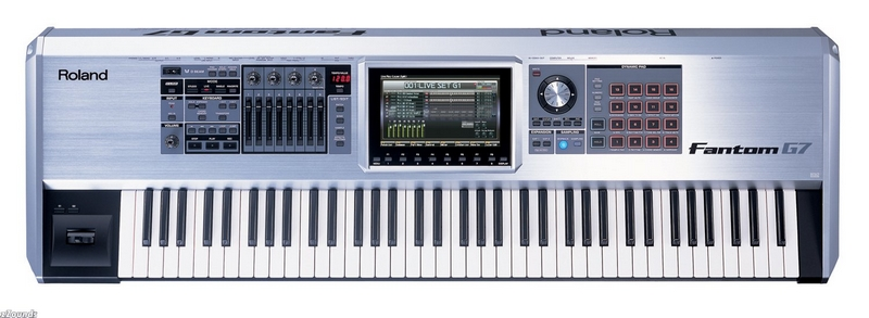 Yamaha, Roland, Korg, and Casio Synthesizers and Keyboards